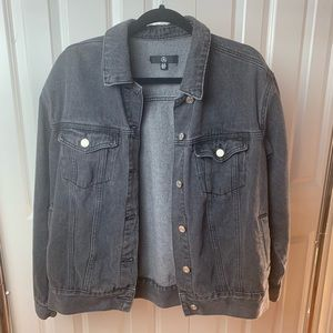 Grey Jean Jacket